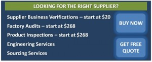 Click to see Supplier Evaluation services