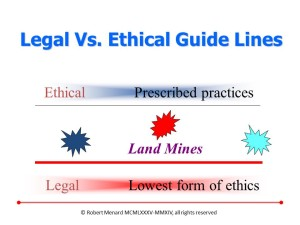 Legal Vs Ethical