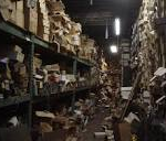 messy warehouse example