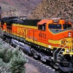 BNSF locomotive