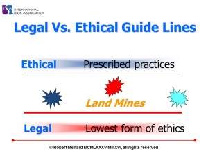 Legal Vs. Ethical